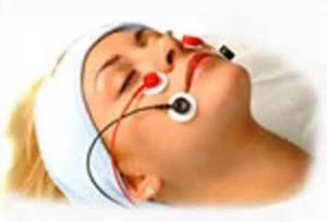 Elettrostimolazione del viso